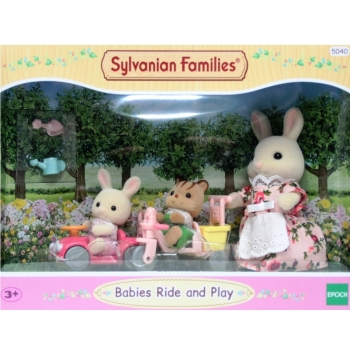Sylvanian Families 5040 - Babies Ride and Play