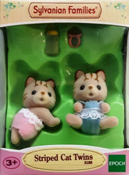Sylvanian Families 5188 - Striped Cat Twins