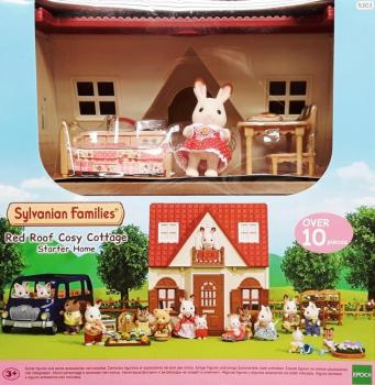 Sylvanian Families 5303 - Red Roof Cosy Cottage