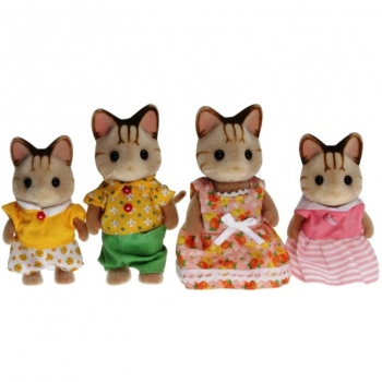Sylvanian Families 5180 - Striped Cat Family
