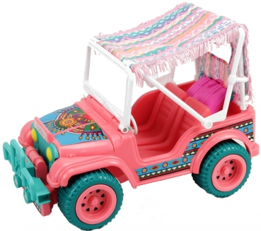 BARBIE - 1990 - Suncharm Desert Rider Jeep Western Fun Set