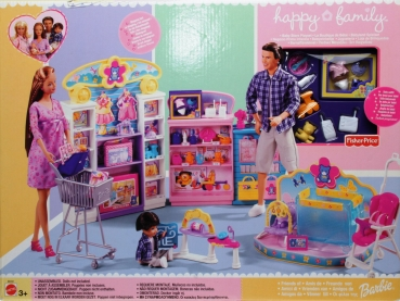 BARBIE - 2003 - B0231 Barbie Happy Family Baby Store Playset