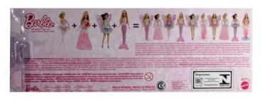 BARBIE - BCP17 Barbie Fairytale Magic Princess Doll