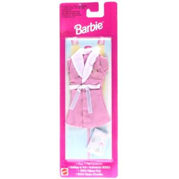 BARBIE - 1997 - Nachtwäsche MODEN - Sleep 'N Fun FASHIONS 68021 rosa