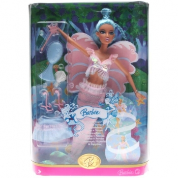 BARBIE - Sea Pixie blue Hair