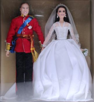 BARBIE - W3420 - William and Catherine Royal Wedding Giftset