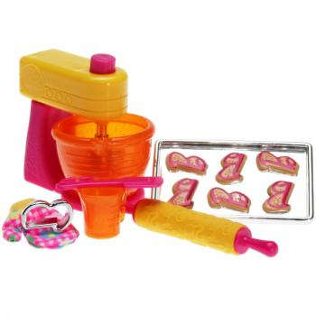 BARBIE - V3937 - Barbie House Dream Accessories Set - Baking Time by Barbie