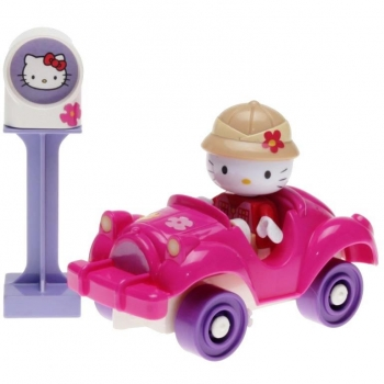 BIG Play BLOXX - Hello Kitty mit Auto