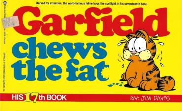 Garfield 17 - Garfield chews the fat