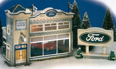 Dept 56 - 54941 Uptown Motors Ford