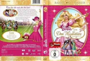 DVD  Barbie  und die Drei Musketiere  DECOTOYS