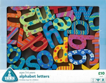 ELC Early Learning Centre - Alphabet Letters