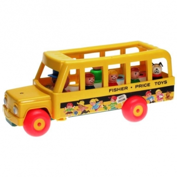 Fisher-Price - 1977 - School Bus 195