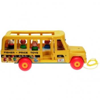 Fisher-Price - 1977 - School Bus 195 - DECOTOYS