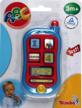Simba Toys 104015349 - ABC First Telephone