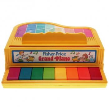 Fisher-Price - 1986 - Grand Piano 2201
