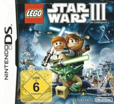 Nintendo DS - Lego Star Wars 3: The Clone Wars