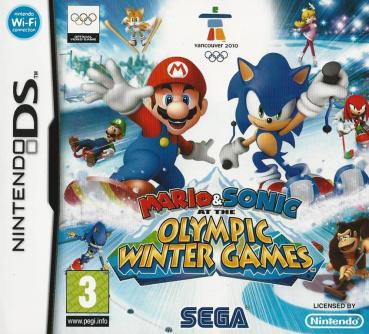 Nintendo DS - Mario & Sonic at the Olympic Winter Games