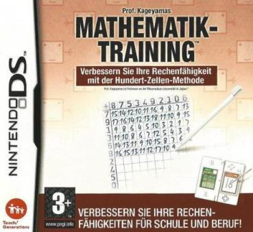 Nintendo DS - Prof. Kageyamas Mathematik Training