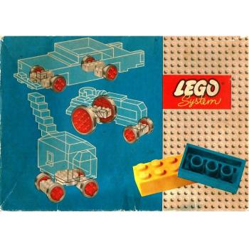 LEGO   314 - Large & Small Wheels & Turn-Table