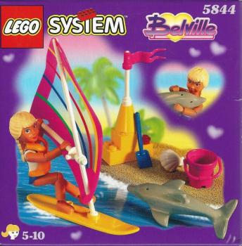 LEGO Belville 5844 - Laura with Surfboard