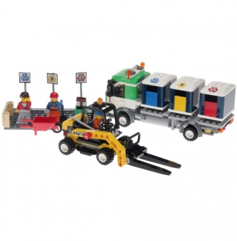 LEGO City  4206 - Recycling Truck