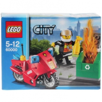 LEGO City 60000 - Fire Motorcycle
