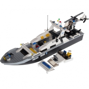 Lego City 7899 - Polizeiboot