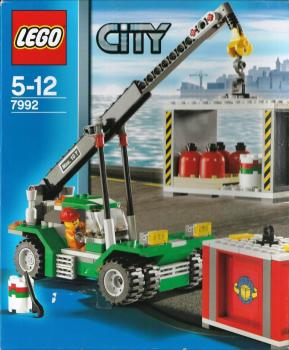 LEGO City  7992 - Container Stacker