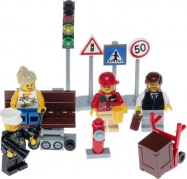 LEGO City  8401 - City Minifigure Collection