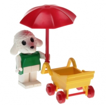 LEGO Fabuland 3602 - Bianca Lamb and Stroller
