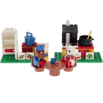 LEGO Fabuland 3646 - Kitchen