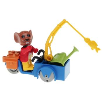 LEGO Fabuland 3781 - Maximilian Mouse, the Handymen
