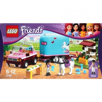 LEGO Friends  3186 - Emma's Horse Trailer
