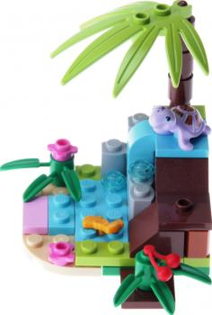 LEGO Friends 41041 - Turtle's Little Paradise