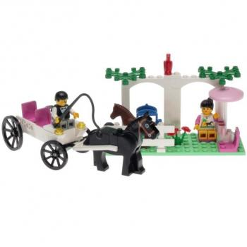 Lego Paradisa 6404 - Carriage Ride