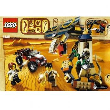 Lego Pharaohs Quest 7325 Cursed Cobra Statue Decotoys