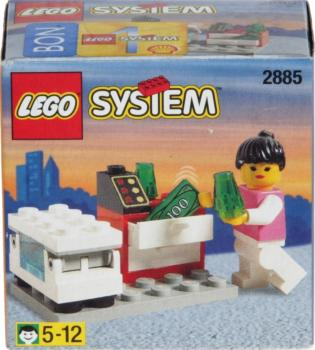 Lego System 2885 - Ice Cream Stand