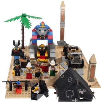 Lego System 5978 - Sphynx Secret Surprise