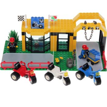 Lego System 6426 - Super Cycle Center