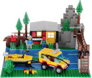Lego System 6552 - Rocky River Retreat
