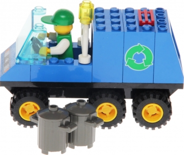 Lego System 6564 - Recycle Truck