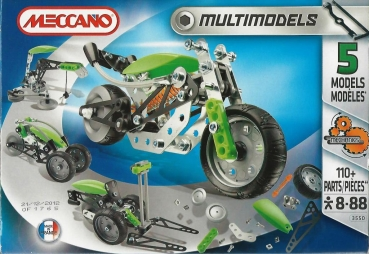 Meccano 3550 - New Generation Bike 5 Modelle