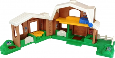 Fisher-Price Little People 7746 - Tierstimmen Bauernhof braun