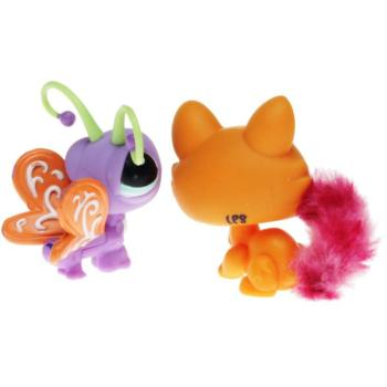 Littlest Pet Shop - Cutest Pets 37881 - Kitten 2576, Butterfly 2577