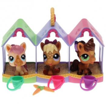Littlest Pet Shop - Petriplets 25368 - Ponies 1879, 1880, 1881