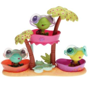 Littlest Pet Shop - Petriplets 25370 - Turtles 1885, 1886, 1887