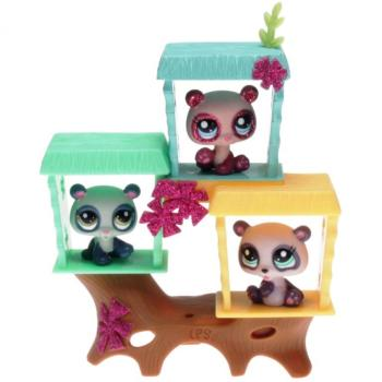 Littlest Pet Shop - Petriplets 34257 - Panda 2323, 2324, 2325