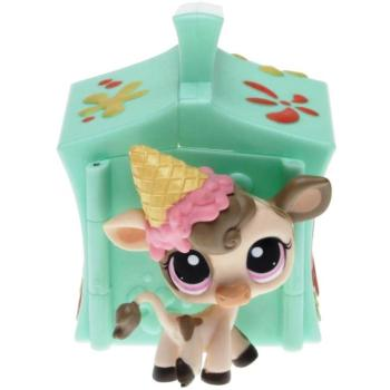 Littlest Pet Shop - Pets on the Go 93394 - Cow 1351