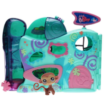 Littlest Pet Shop -  Custom Playset - 68480 Daycare